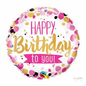 Globo Foil Happy Birthday To You