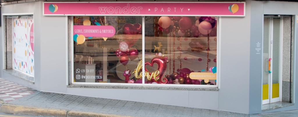 Wonder Party tienda Decoración con Globos