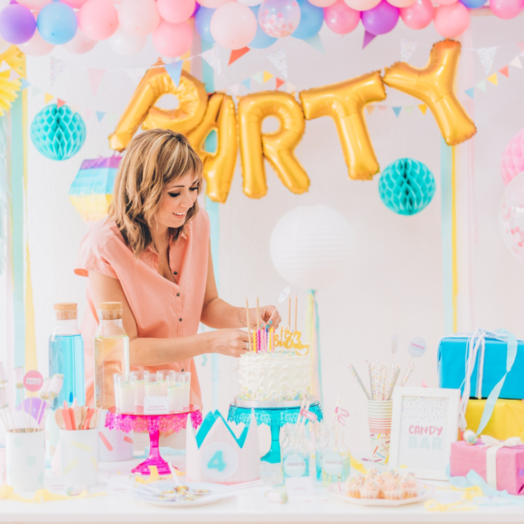 Workshop Candy Bar y deco para fiestas The Party School Wonder Party Barcelona